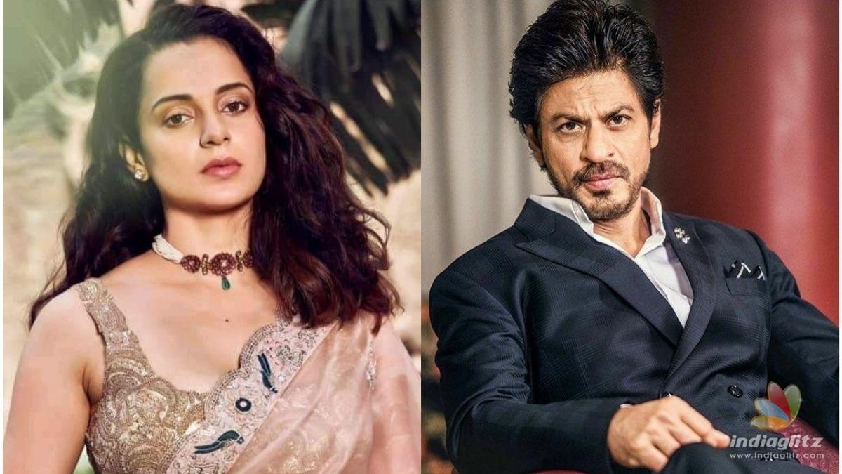 Kangana Ranaut compares herself to Shahrukh Khan