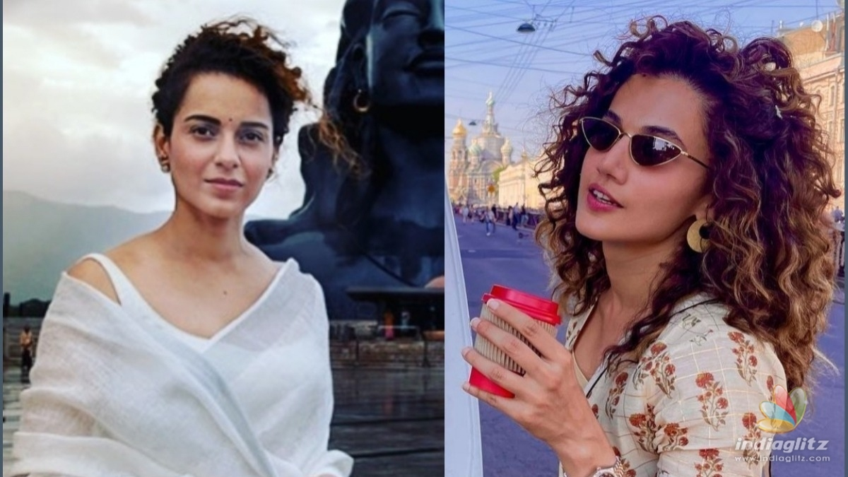 Kangna Ranaut offended by Taapsee Pannus remark