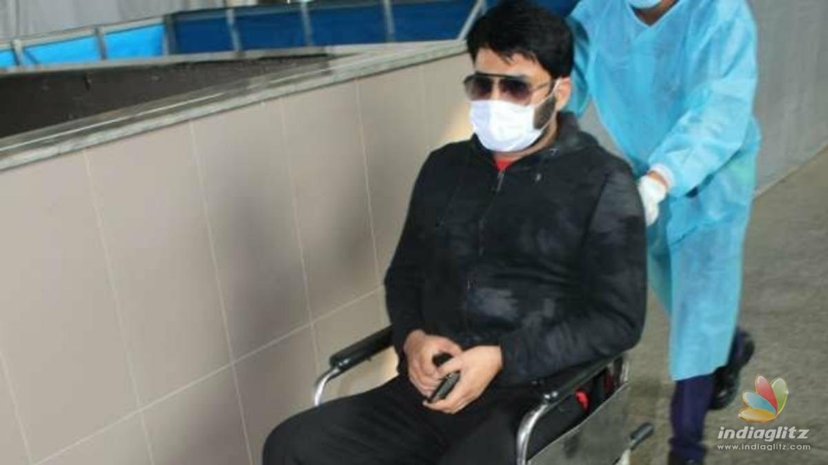 Kapil Sharma reveals the reason for using a wheelchair