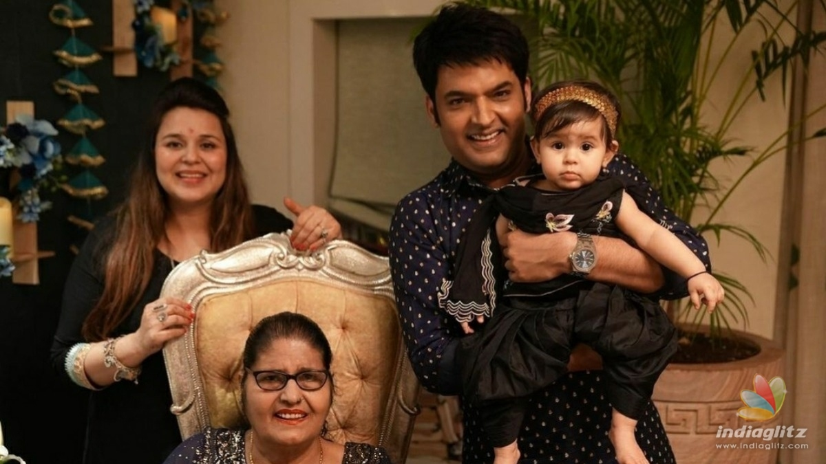 Kapil Sharma and Ginni Chatrath become parents for the second time