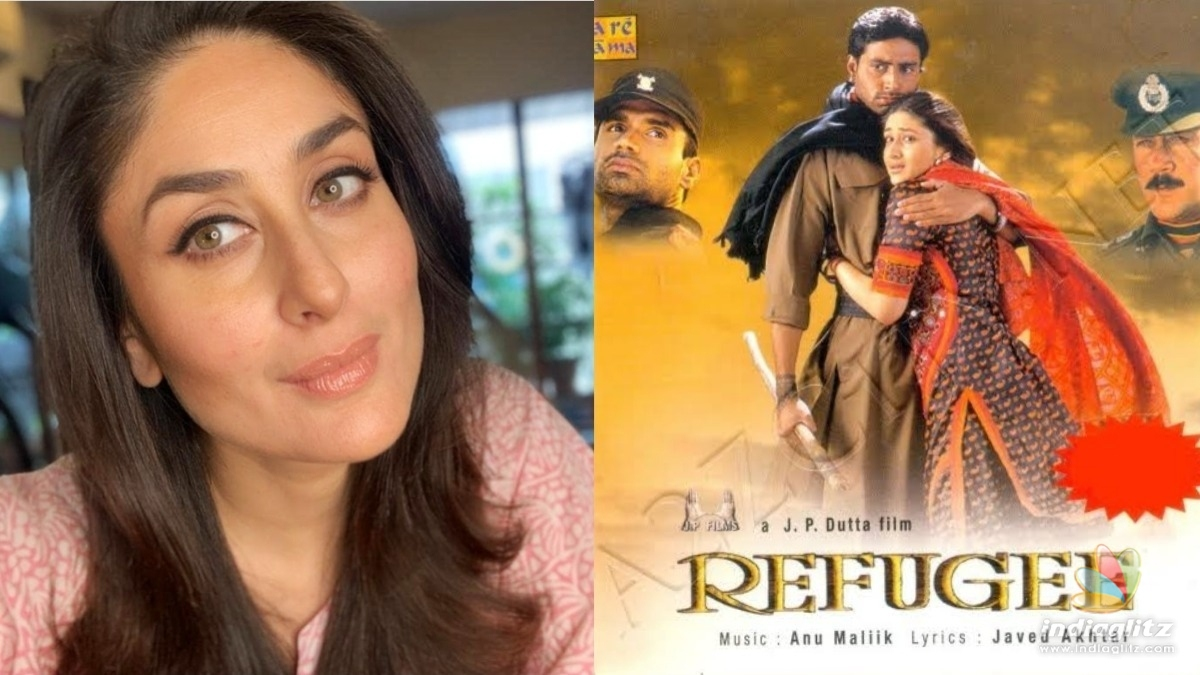 Kareena Kapoor recalls her debut film on this ocassion