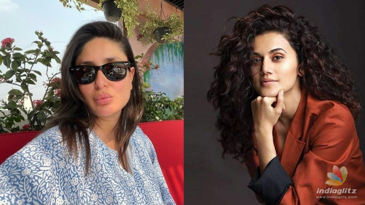 Taapsee Pannu comes out to defend Kareena Kapoor