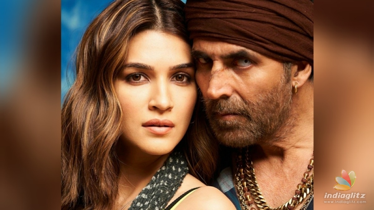 Check out Kriti Sanons first look from Bachchan Pandey