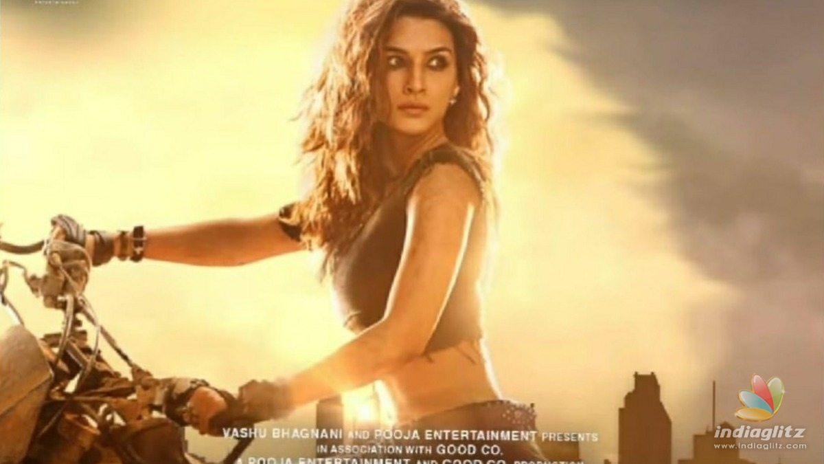 Kriti Sanons first look from Ganpath is stunning