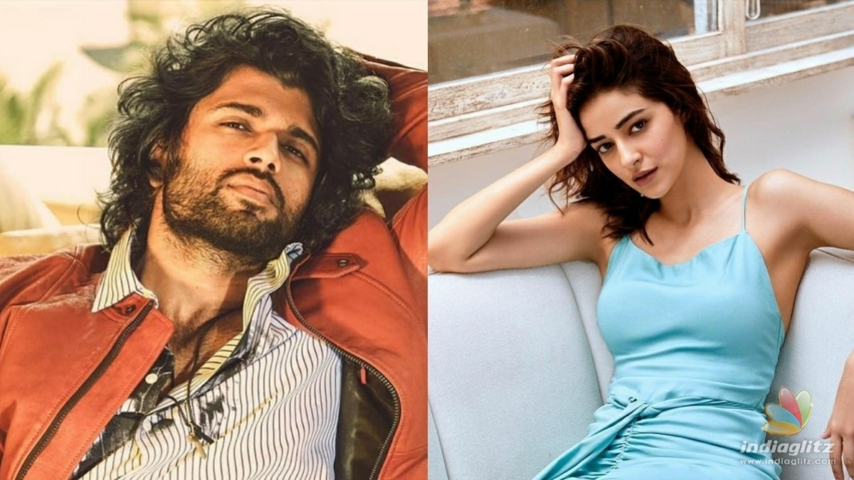 Heres the update about the filming of Ananya Pandey and Vijay Deverakondas Liger