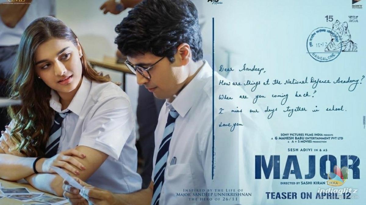 Adivi Sesh introduces Saiee Manjrekars character from Major
