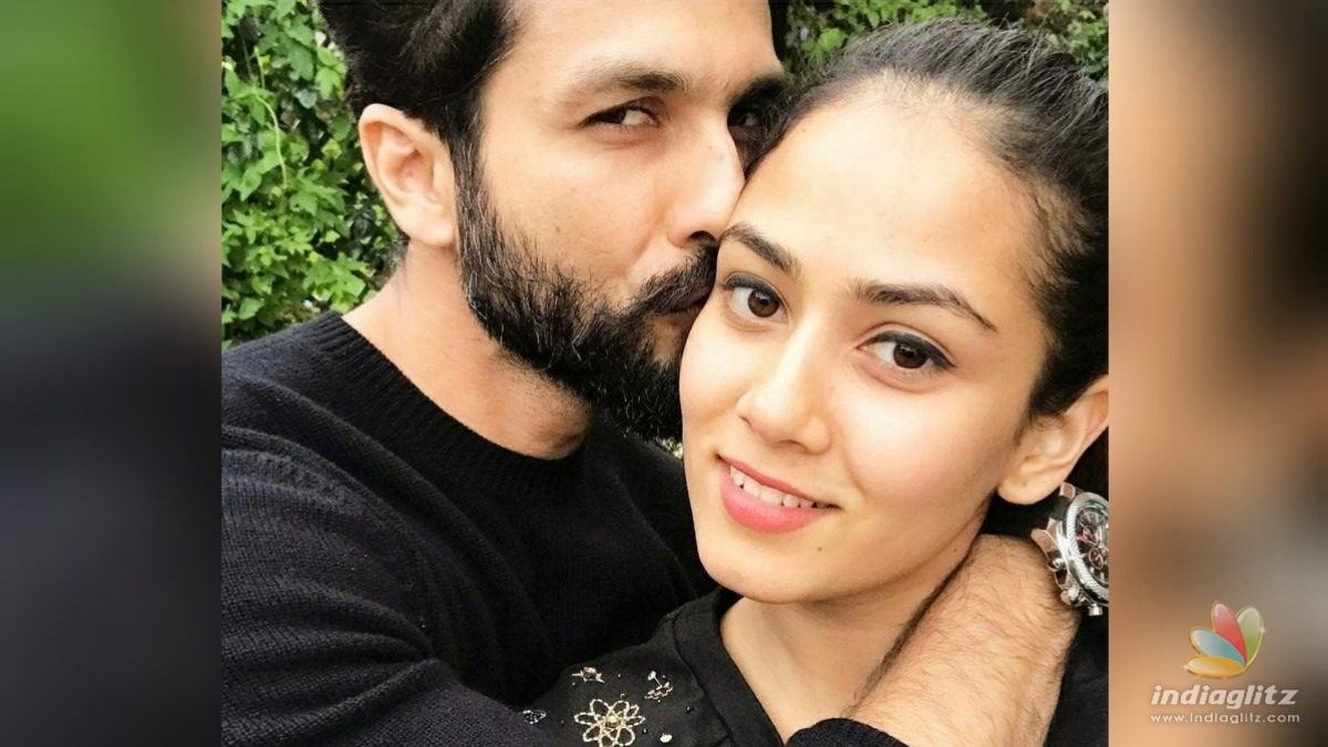 Mira Rajputs adorable birthday wishes for Shahid