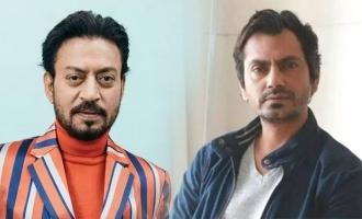 Nawazuddin Siddiqui recalls working with Irrfan Khan