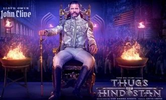 British Actor Lloyd Owens John Clive Look From Thugs of Hindostan Out