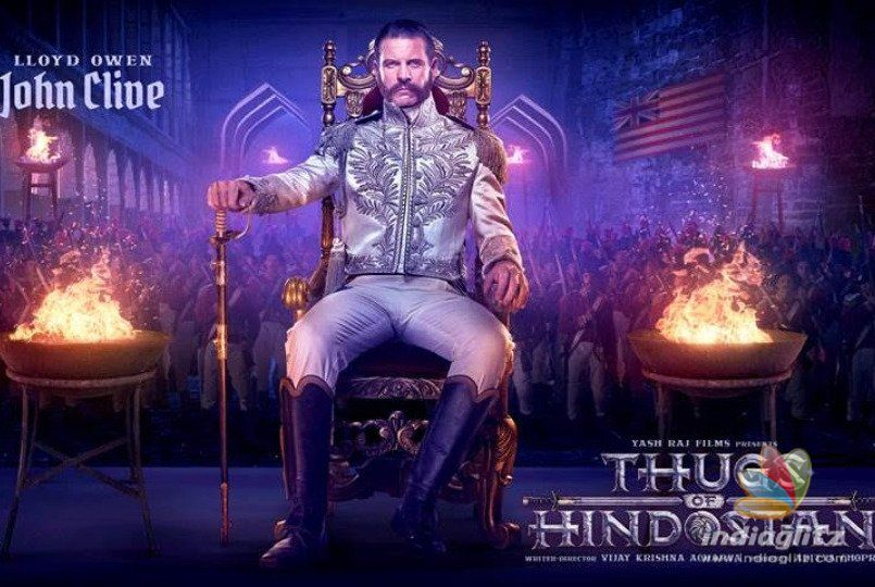 British Actor Lloyd Owen's John Clive Look From 'Thugs of Hindostan' Out!