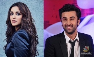 Parineeti Chopra talks about sharing screen with Ranbir Kapoor