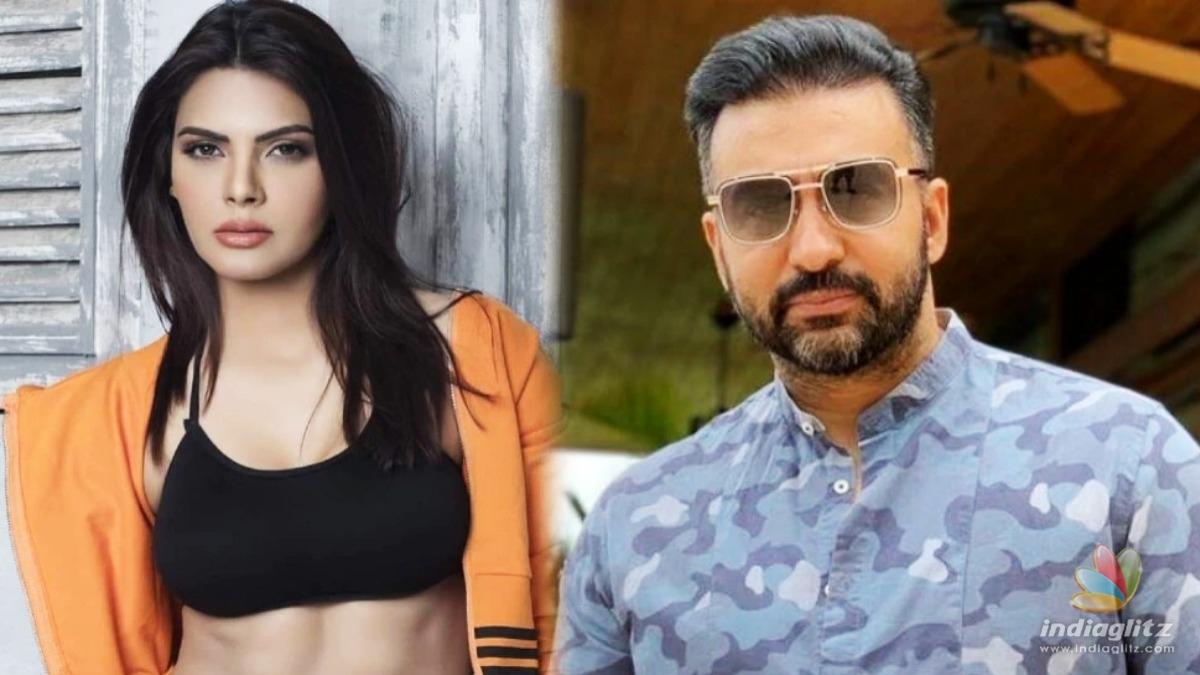 Sherlyn Chopra reacts on Raj Kundras arrest