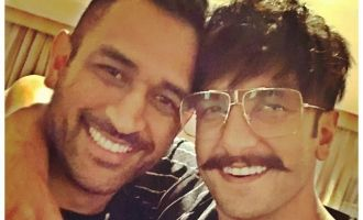 Ranveer Singh And Dhoni's Selfie Is The Pic OF The Day!