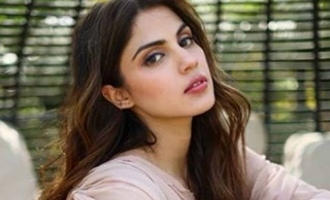 Rhea Chakraborty mourns the lose of her real life hero