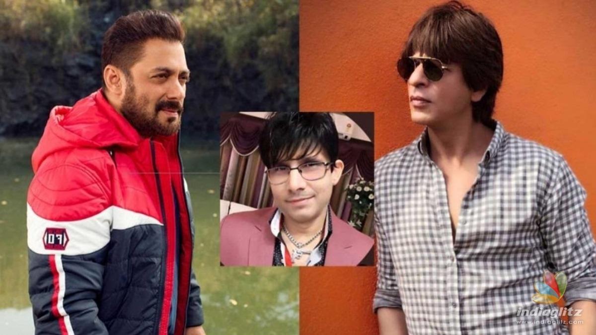 KRK brings up Shahrukh Khan in his feud with Salman Khan