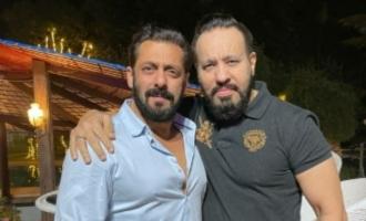 Salmans bodyguard Shera met the actor