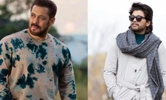 Salman show gratitude to Allu Arjun