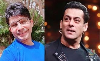 KRK again expresses hostility against Salman in recent tweets
