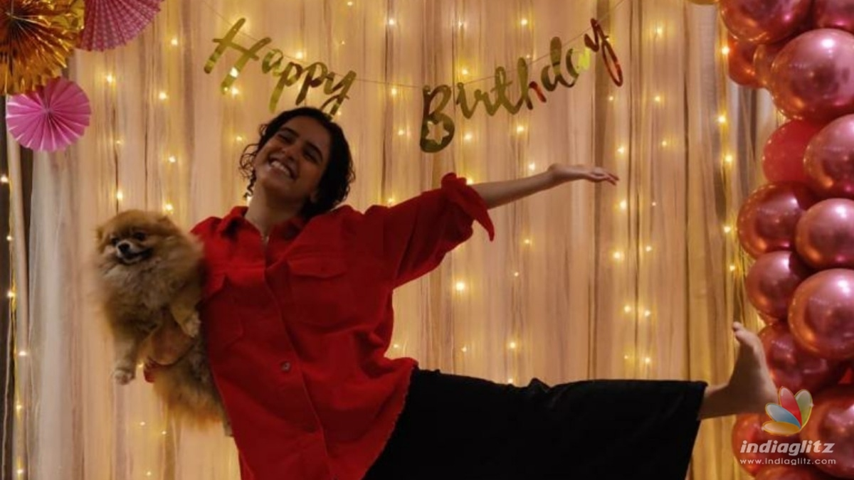 Heres how Sanya Malhotra celebrated her birthday
