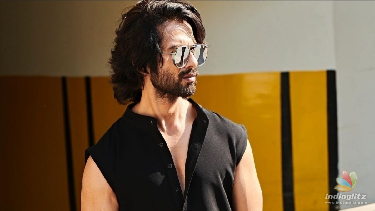 Shahid Kapoor recalls working on Kabir Singh