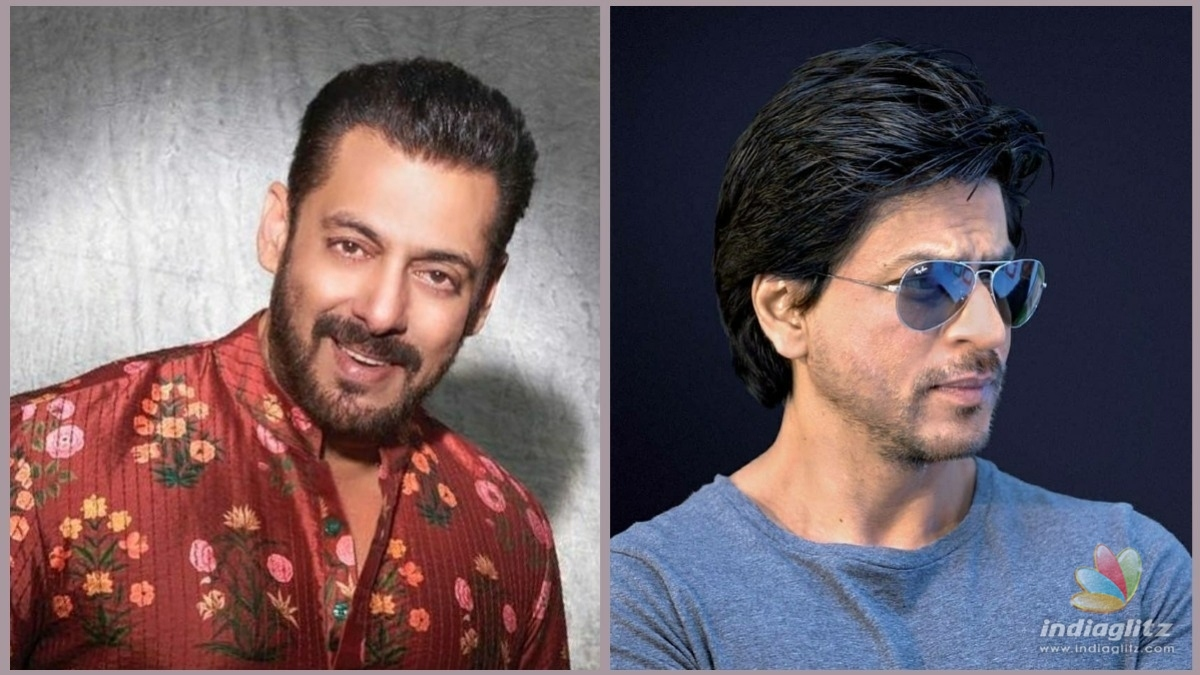 Heres an update on Shahrukh and Salmans epic team up
