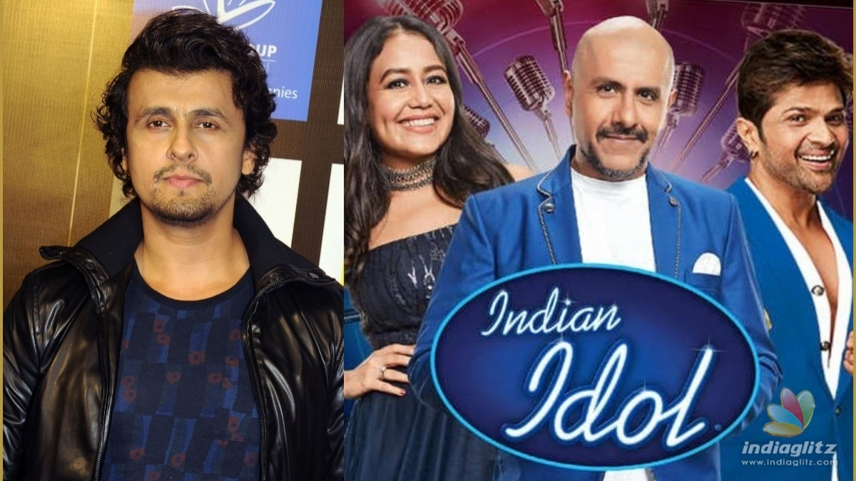 Sonu Nigam shares his take on Indian Idol controversy