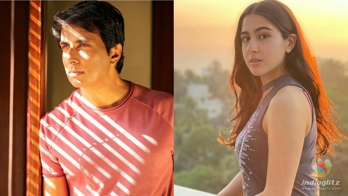 Sonu Sood calls Sara Ali Khan a hero for this reason