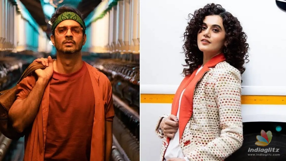 Tahir Raj Bhasin talks about kissing Taapsee