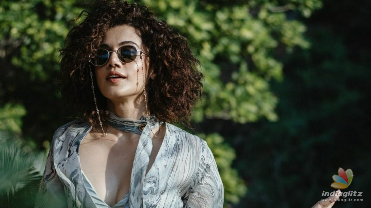 Taapsee Pannu talks about this aspect of her career