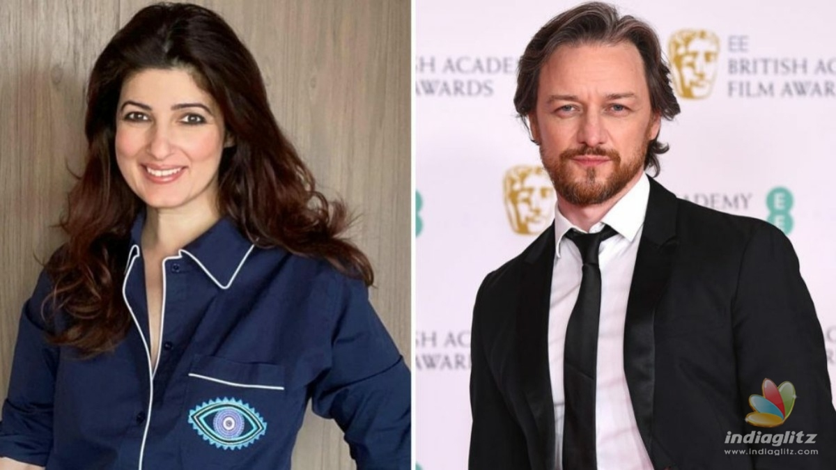 Twinkle Khanna is grateful to X-Men star James McAvoy