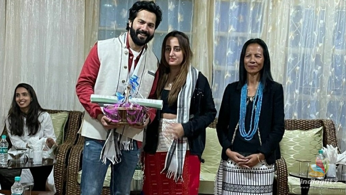 Varun Dhawan shows his philanthropic side