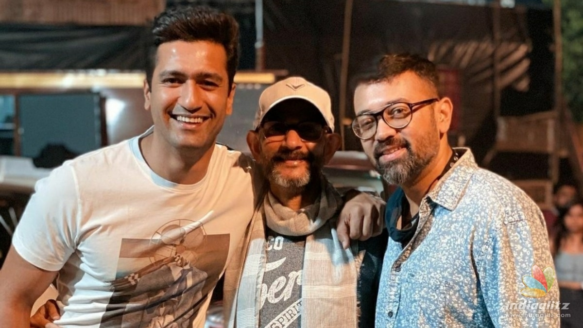 Vicky Kaushal wraps up yet another project