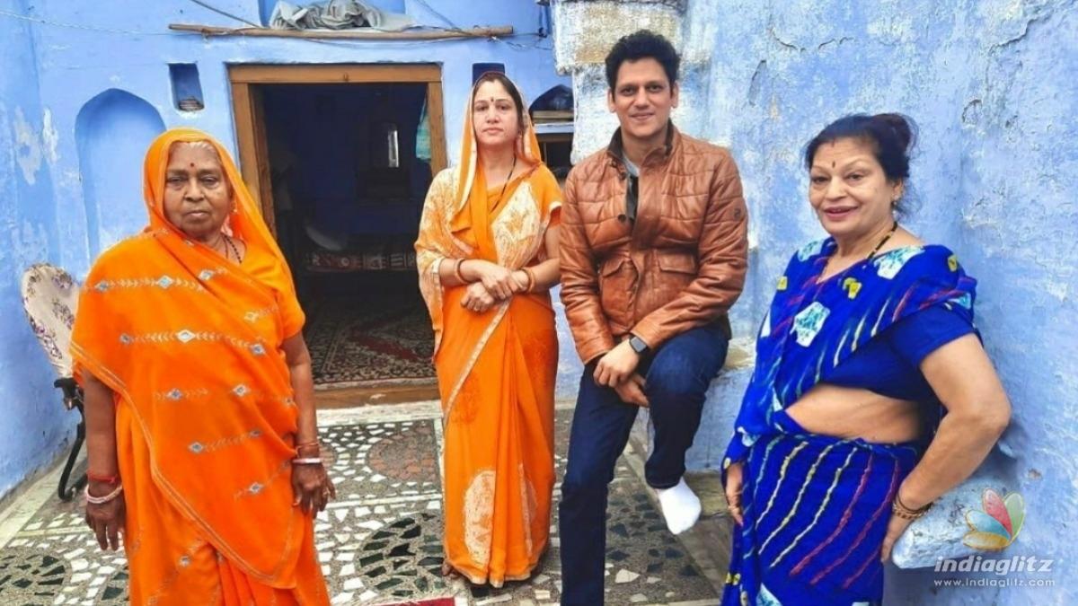 Vijay Varma revisits old memories in Rajasthan