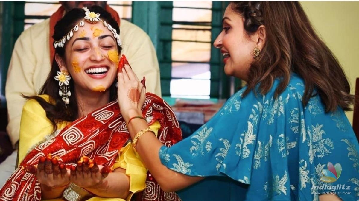 Heres a glimpse of Yami Gautams pre wedding ceremony