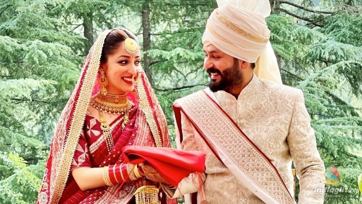 Actress Yami Gautam ties the knot with this filmmaker