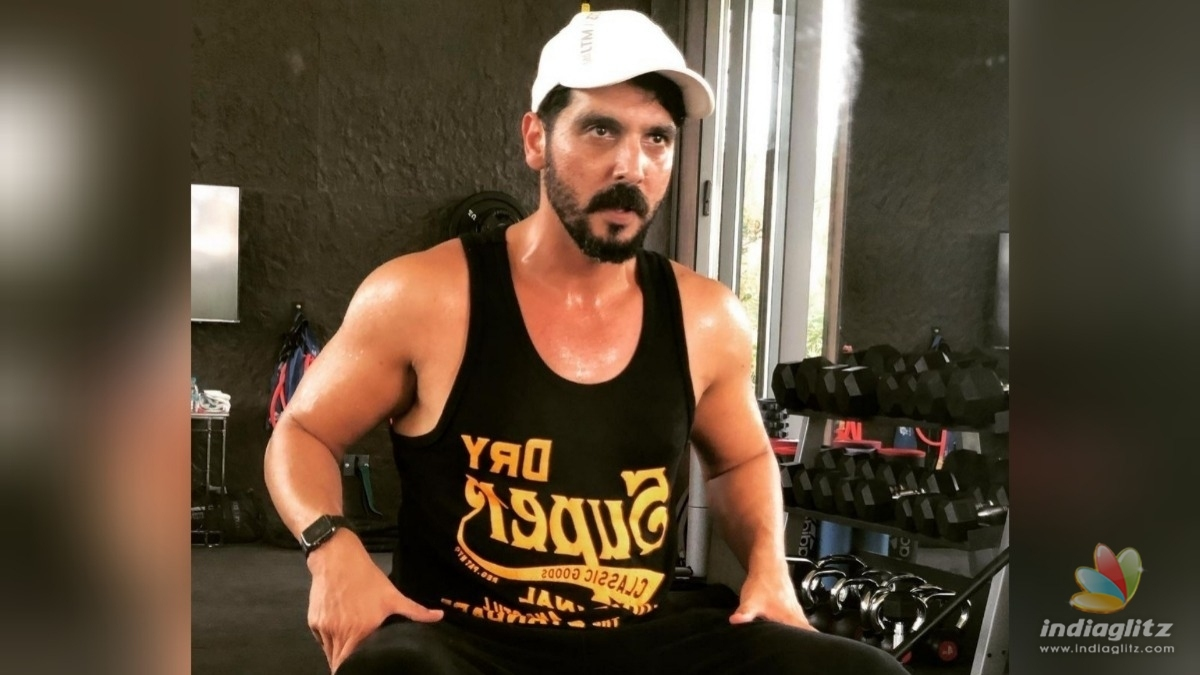Check out Zayed Khans shredded post transformation look