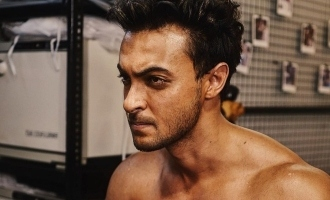 Aayush Sharma shows gratitude towards makers and audience for terrific response to first look of 'Antim'.
