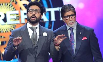Abhishek Bachchan appears on KBC for noble cause