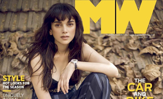 CHECKOUT Aditi Rao Hydari on cover of Mans World Magazine