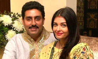 Aishwarya Rai and Abhishek Bachchan remember her father in his birthday.