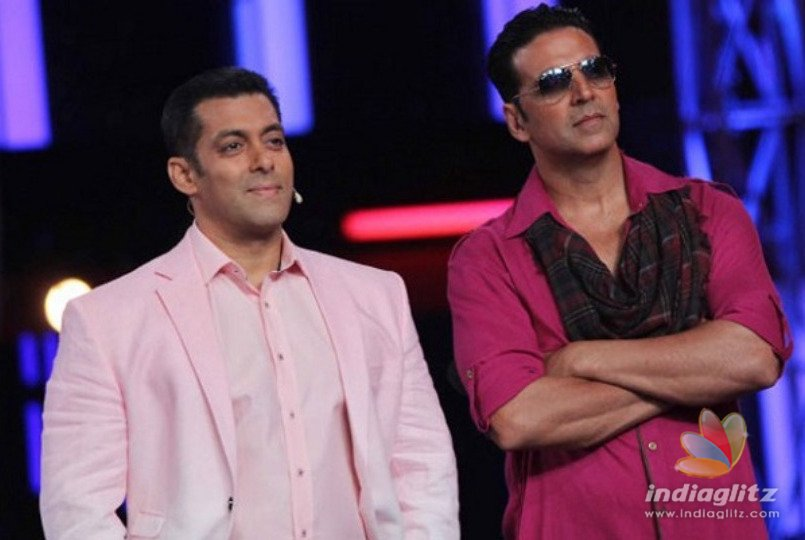 Salman Khan and Akshay Kumar Bags A Place in Forbes Highest Paid Celebs In World
