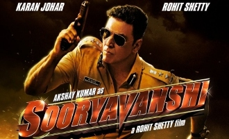 'Sooryavanshi' First Look Out & Akshay Kumar Is Killing It!