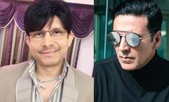 KRK tries to create hatered for Akshay Kumar