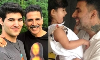Check out Akshay Kumar's amazing Father's Day post