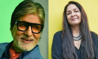 Neena Gupta opened up about working with Amitabh Bachchan