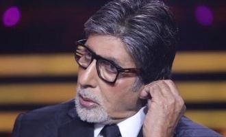 Amitabh Bachchan faces flak for promoting pan masala