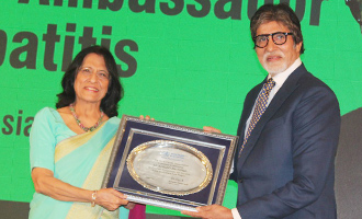 Amitabh Bachchan as WHO Goodwill Ambassador for Hepatitis Awareness
