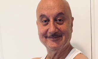 Anupam Kher shares the first look of his 519th film