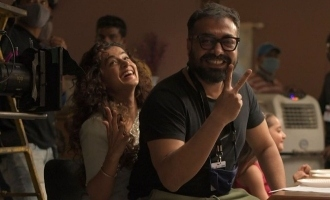 Anurag Kashyap and Taapsee Pannu are back in style