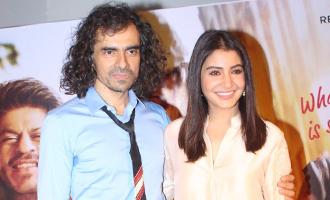 Anushka Sharma & Imtiaz Ali at 'Jab Harry Met Sejal' Trailer Launch